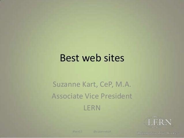 Best web sites