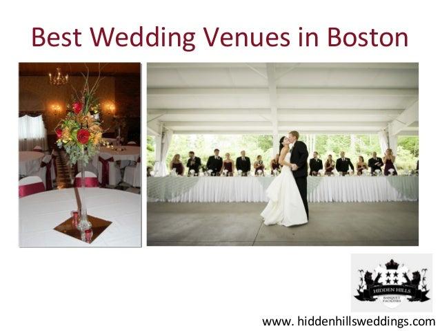 Best Wedding Venues in Boston                 www. hiddenhillsweddings.com