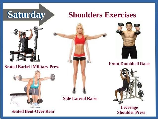 Shoulder Weight Exercises Men