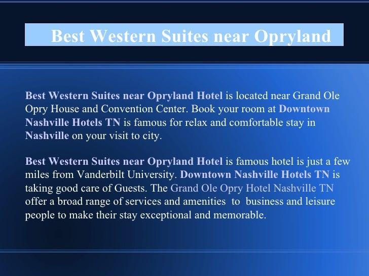 Best Western Suites near Opryland