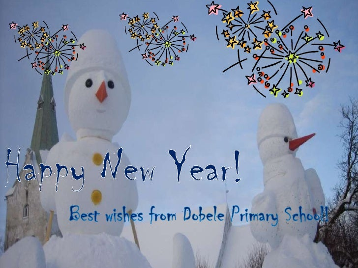 Best wishes from dobele primary school