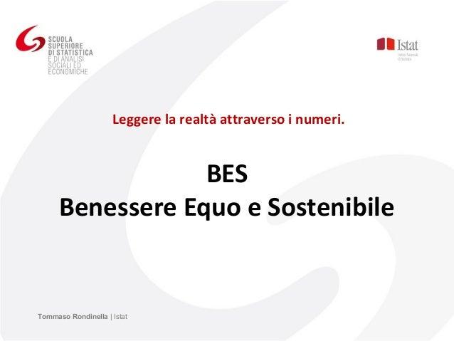 T. Rondinella - BES Benessere Equo e Sostenibile