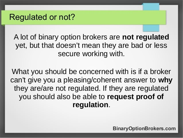Online binary trading signals