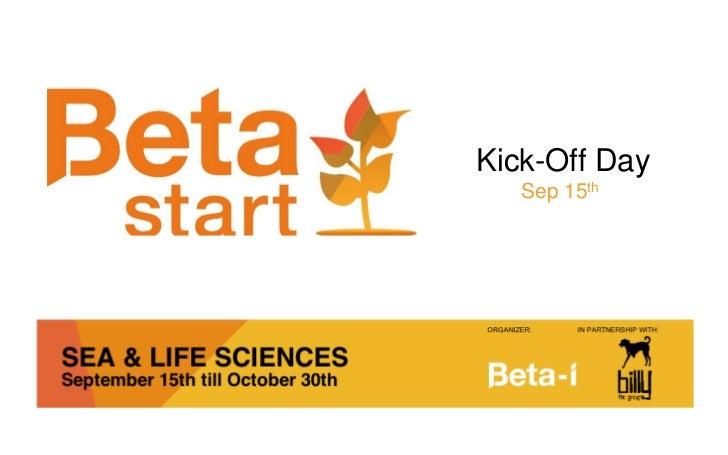 Beta-start Program
