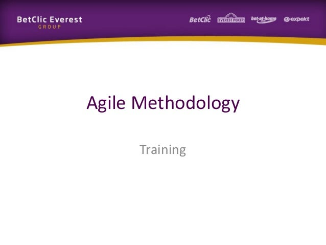 Agile MethodologyTraining