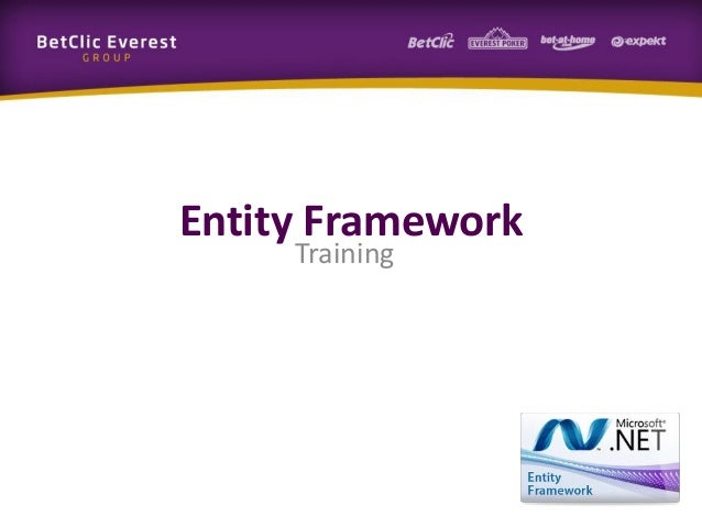 Entity Framework Training
