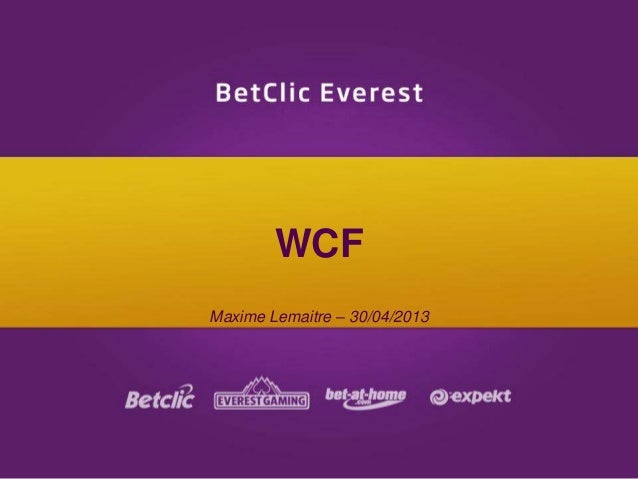 WCFMaxime Lemaitre – 30/04/2013