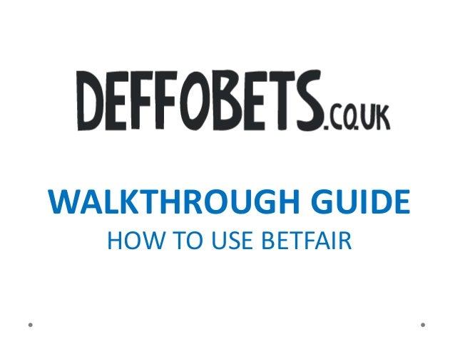 betfair guide