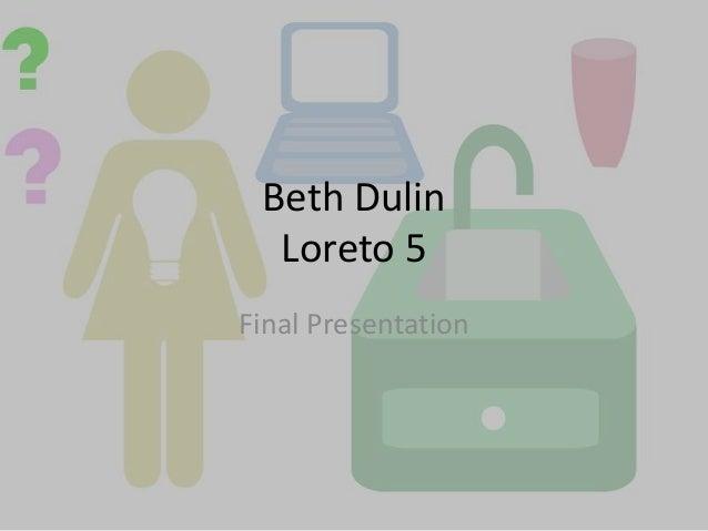 Beth Dulin Loreto 5 2012