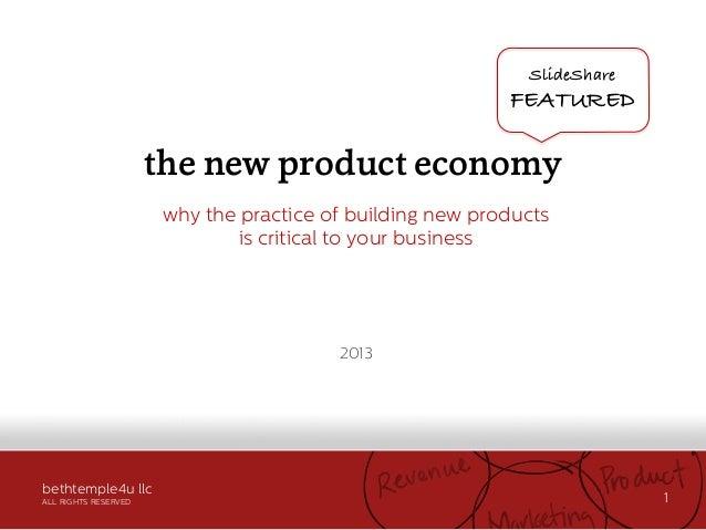 The New Product Economy _bethtemple4u