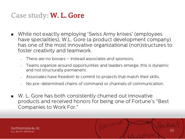gore tex case study Bound to perform: gore® propaten® vascular graft and cbas®  in these  cases, a prosthetic avg, most commonly expanded polytetrafluoroethylene   however, an animal study addressing compliance did not prove compliance to  be a.