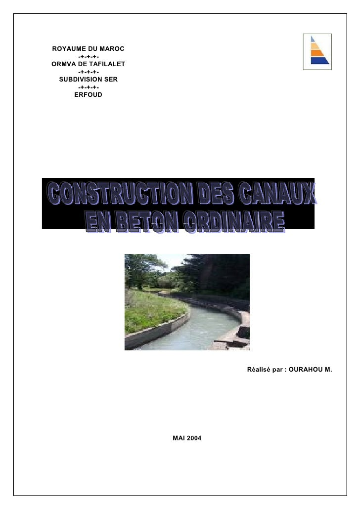 ROYAUME DU MAROC       -+-+-+- ORMVA DE TAFILALET       -+-+-+-   SUBDIVISION SER       -+-+-+-      ERFOUD               ...