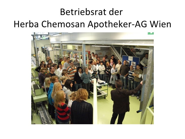 Betriebsrat derHerba Chemosan Apotheker-AG Wien