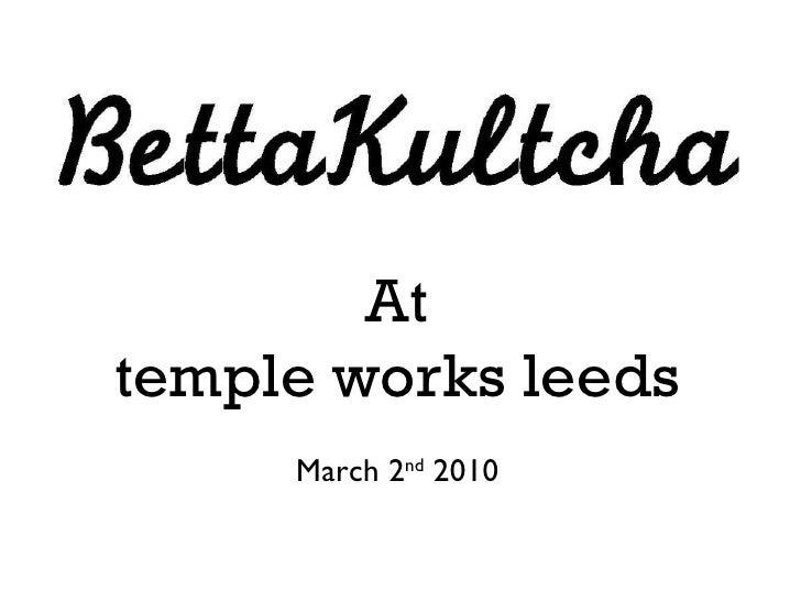 BettaKultcha