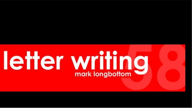 Letter Writing by  m a longbottom