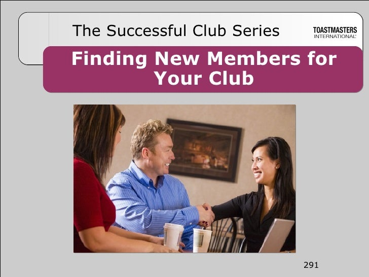 Finding New Members for Your Club The Successful Club Series 291