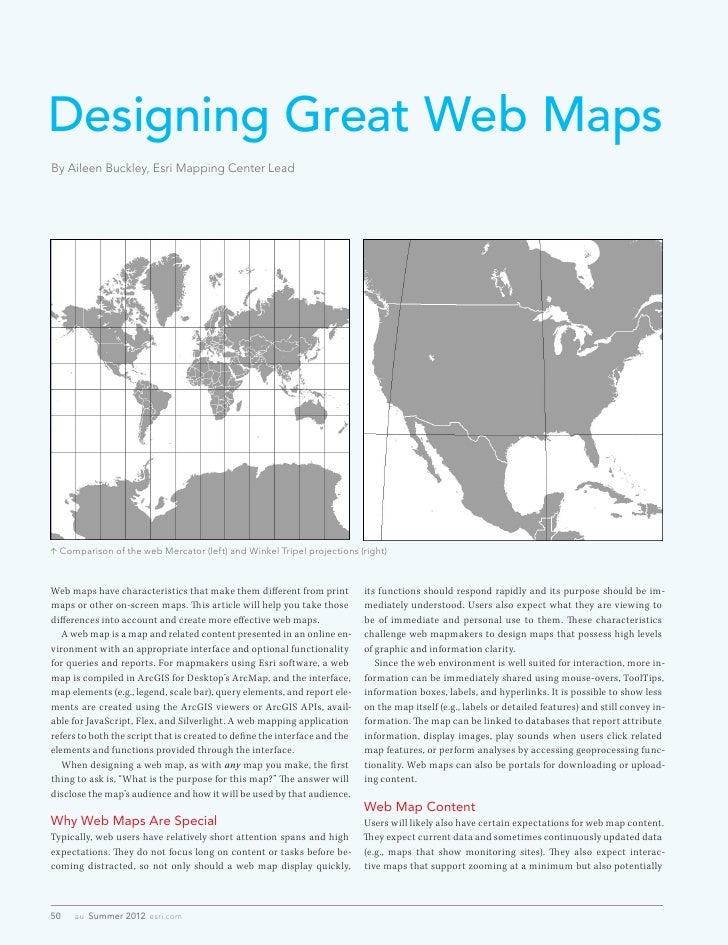 Designing Great Web Maps