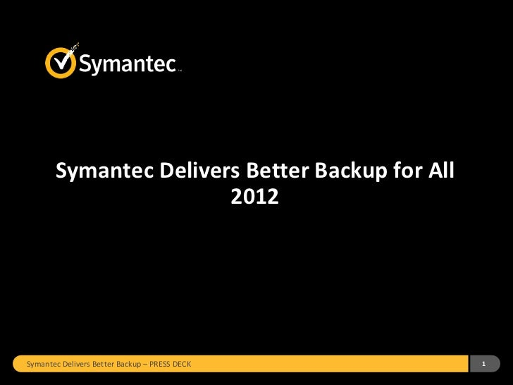 Better Backup For All - February 2012