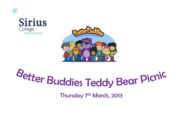 Better Buddies Teddy Bear Picnic