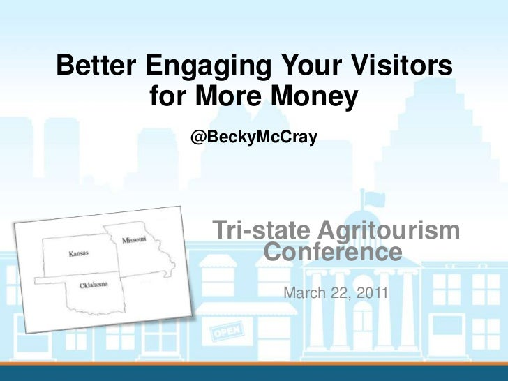 Better engaging your agritourism visitors for more money