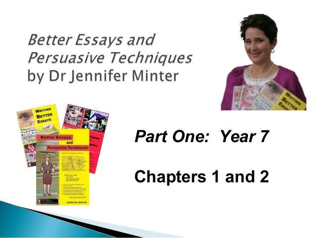 make better essays