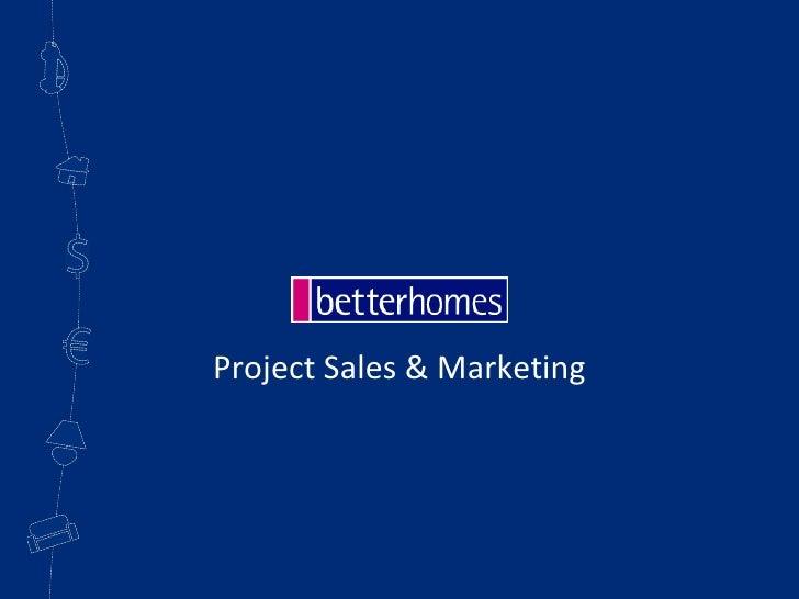 Project Sales & Marketing