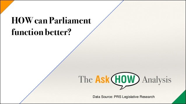 HOW can India's Parliament function better?