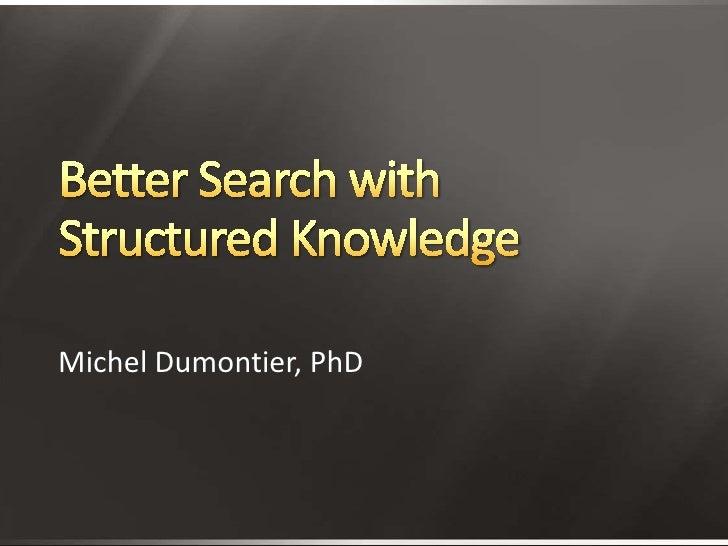 Michel Dumontier, PhD