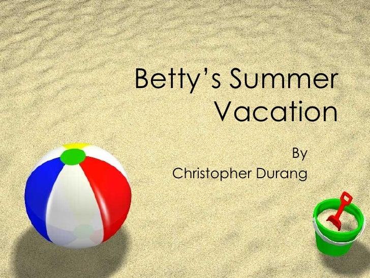 Bettys vacationlexiyellin