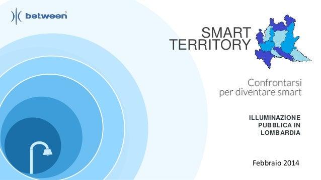 Between smart territory_illuminazionepubblica