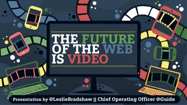 The Future of the Web is Video