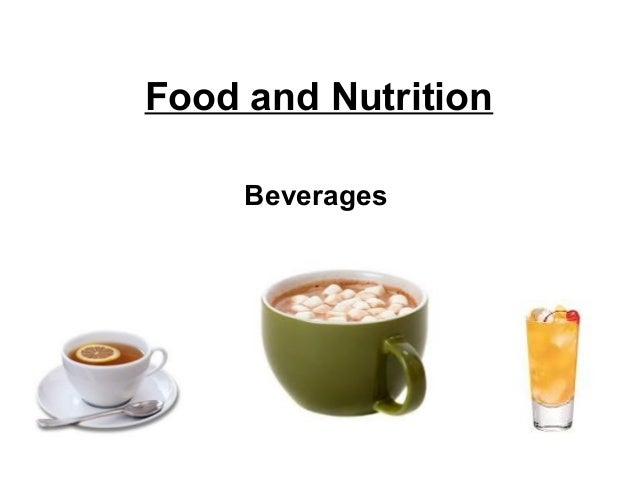 Food and NutritionBeverages