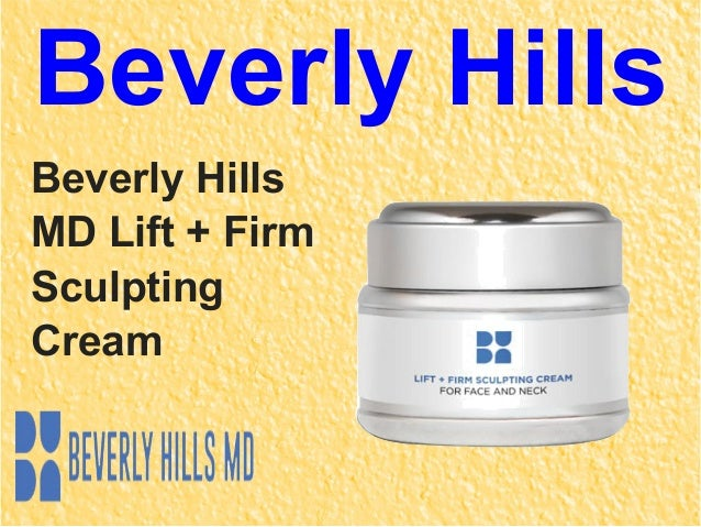 Beverly Hills Lift And Sculpting Cream