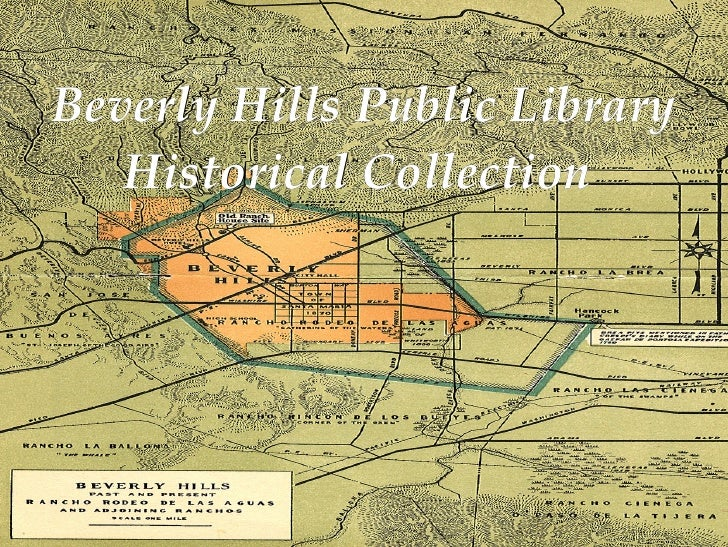 Beverly Hills Public Library Historical Collection