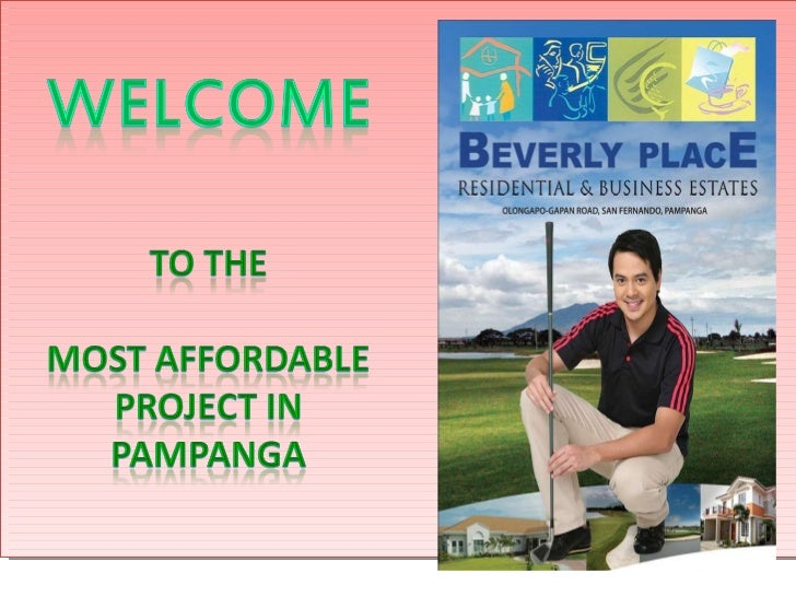 Beverly Place,Pampanga - Residential & Business Estates