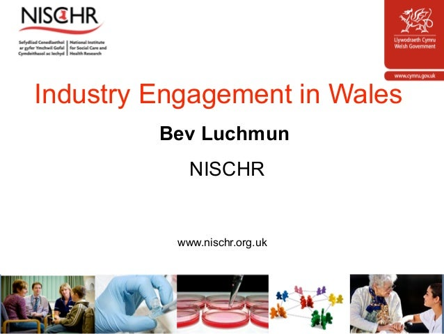 Bev luchmun industry engagement in wales