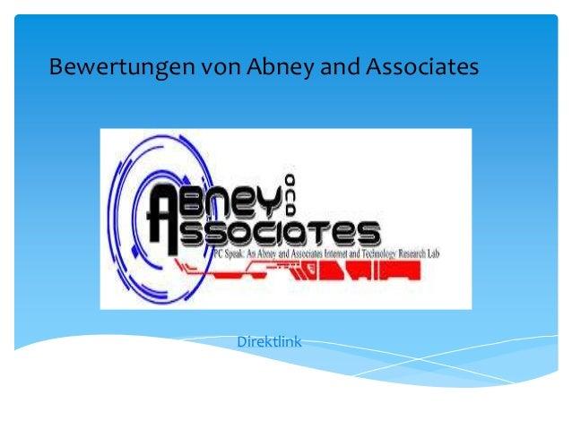Bewertungen von Abney and AssociatesDirektlink