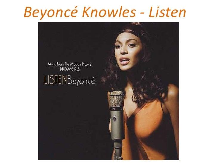 Beyoncé   listen