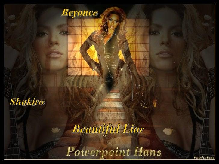 Beyonce Shakira Beautiful Liar