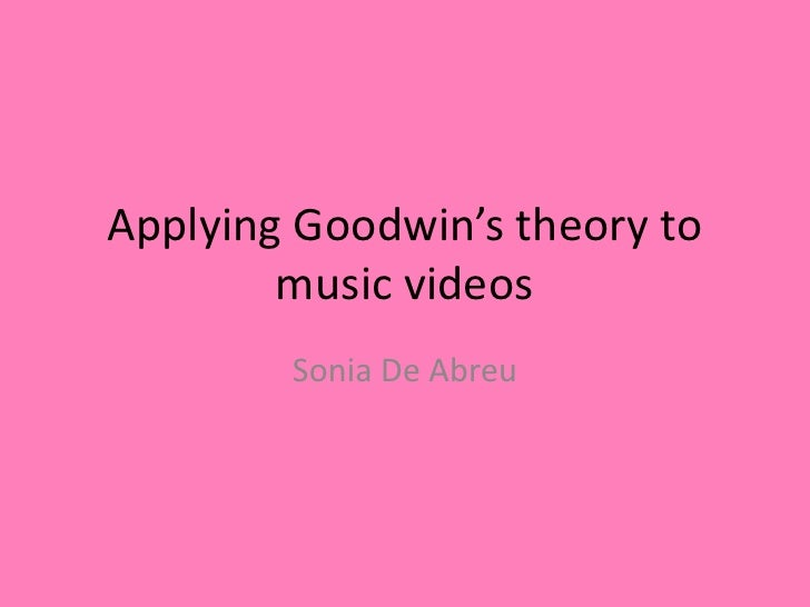 Applying Goodwin's theory to music videos - Beyonce single ladies