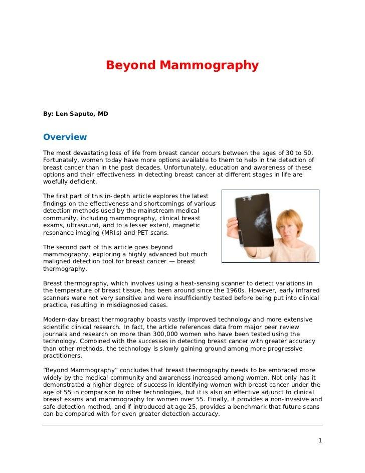 Beyond.mammography