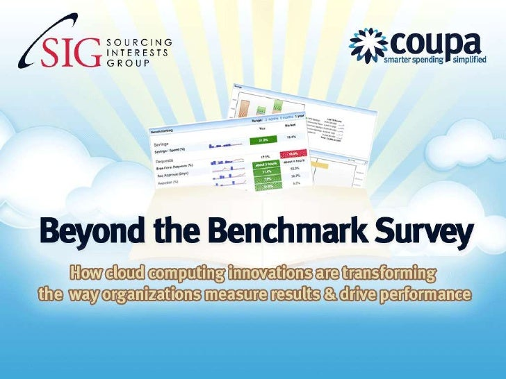 SIG Global Summit 2010 - Williams-Sonoma - Beyond the Benchmark Survey
