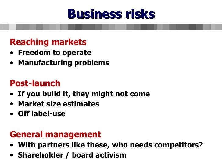 Biotechnology business plan