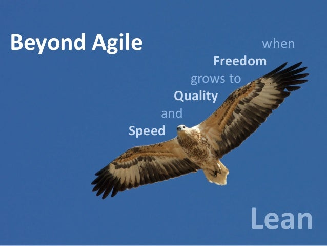 Beyond Agile  when Freedom grows to Quality and Speed  Lean