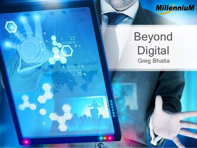 Beyond Digital   Mcom 2013