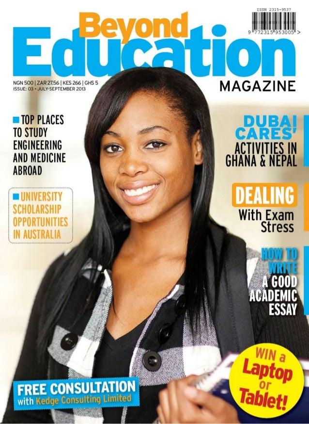 Beyond education magazine abridged 3rd issue 2013