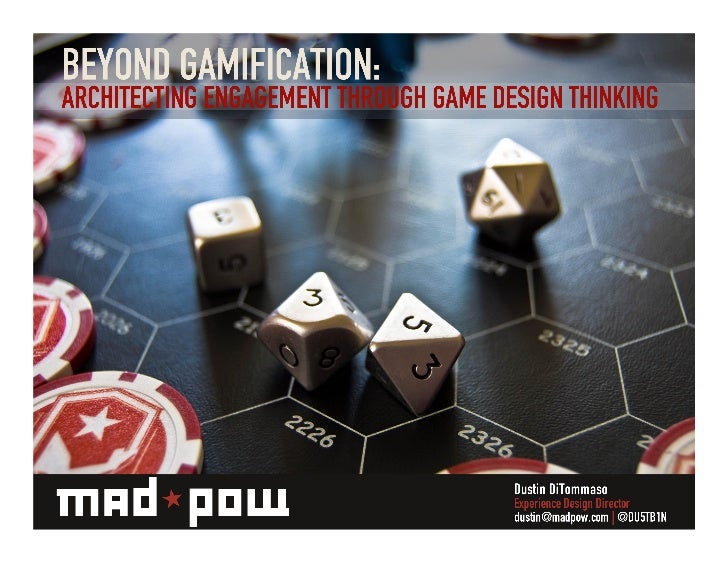 Beyond Gamification: Architecting Engagement Through Game Design Thinking