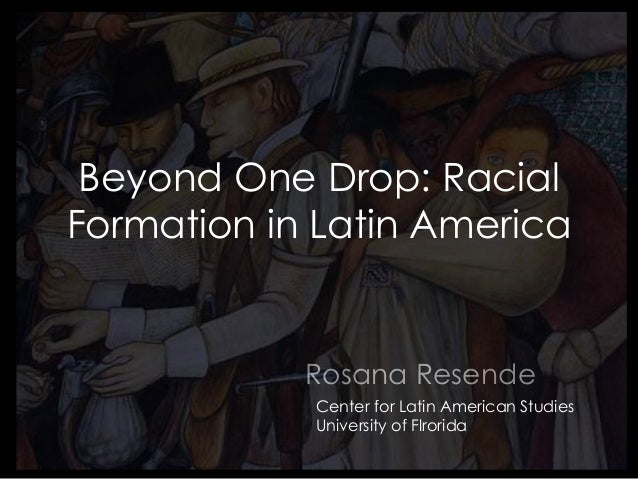 racial formation It has been thirty years since aaads professor michael omi and professor howard winant (currently at uc santa barbara) first published racial formation in the united.