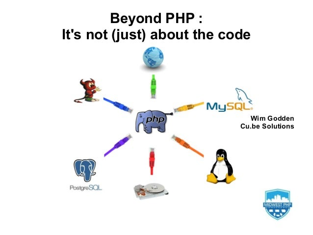 Wim GoddenCu.be SolutionsBeyond PHP :Its not (just) about the code
