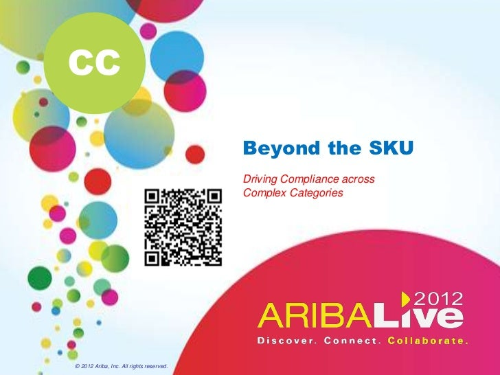 Beyond the SKU -  Driving Compliance Across Complex Categories